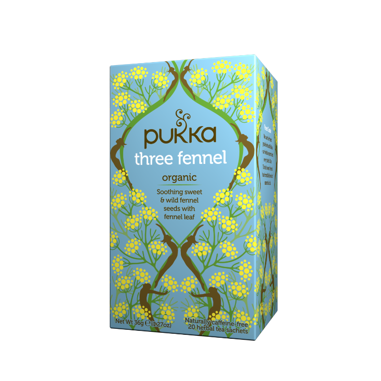 Pukka Herbs Organic Three Fennel Tea