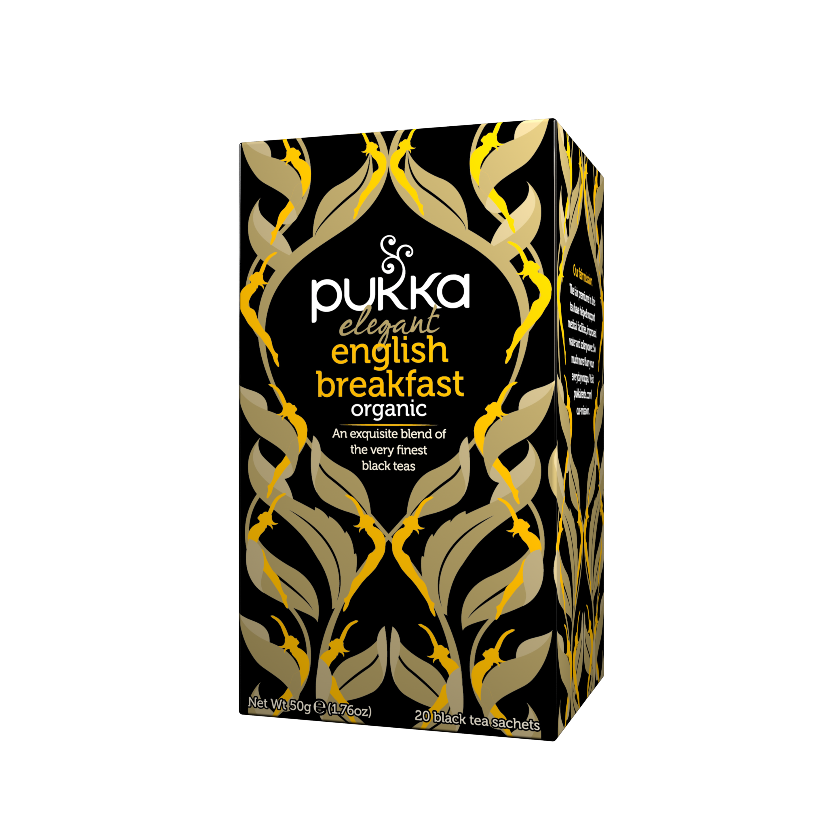 Pukka Herbs Organic Elegant English Breakfast Tea