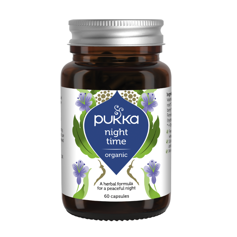 Pukka Night Time Organic Supplement