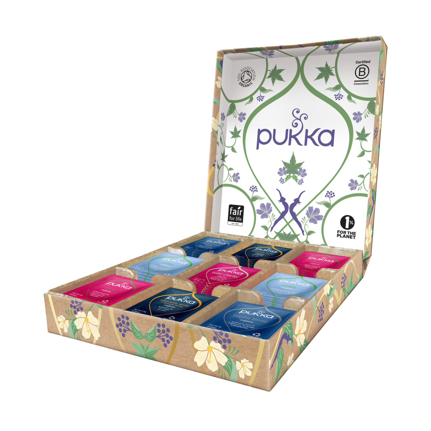 Pukka Relax Selection Box