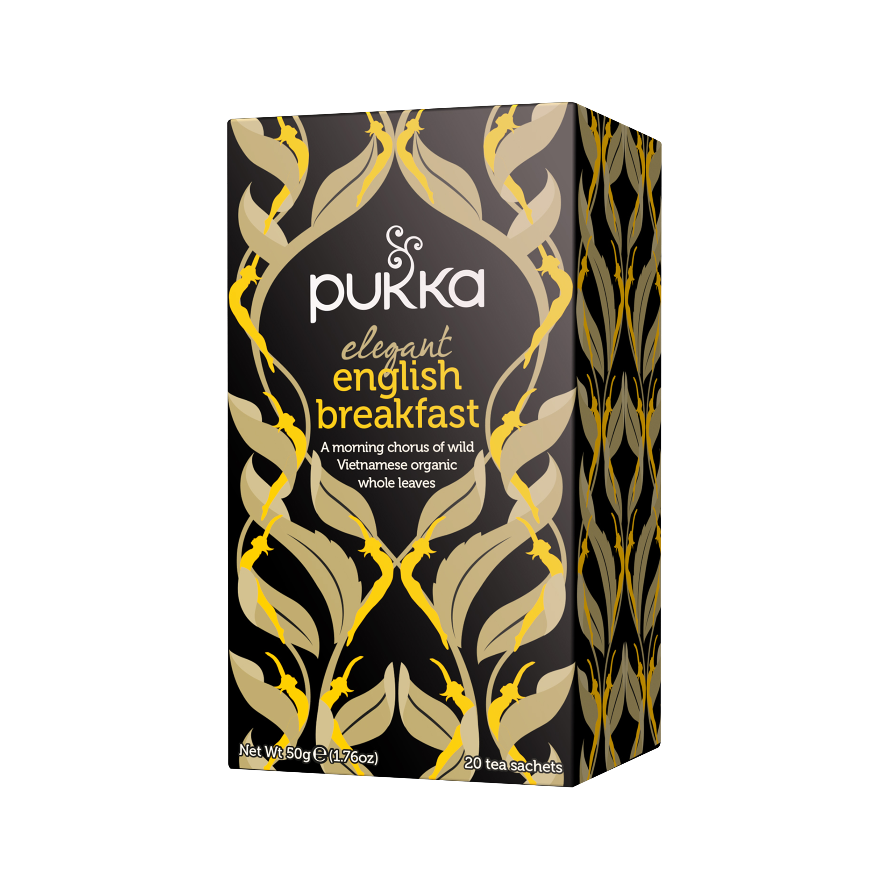 Pukka Herbs Tè nero Biologico Elegant English Breakfast