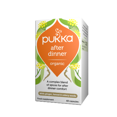 Pukka Herbs Organic After Dinner Supplement x 60 Capsules