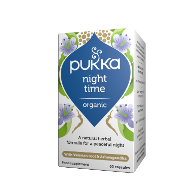 Pukka Herbs Organic Night Time Supplement x 60 Capsules